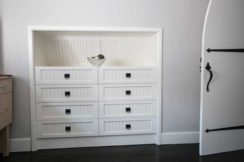 Custom - Built-In White Dresser