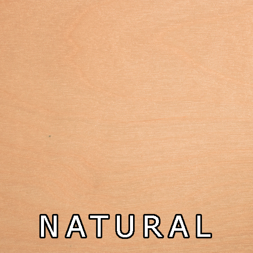 Natural- Lacquer Only