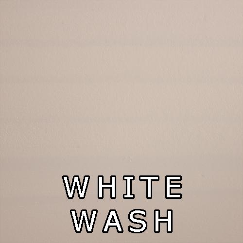 White Wash- Paint/Wash