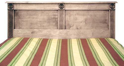 Clearance - Full Rosettes Headboard - 2¼ x 56½ x 40 | Oak Wood
