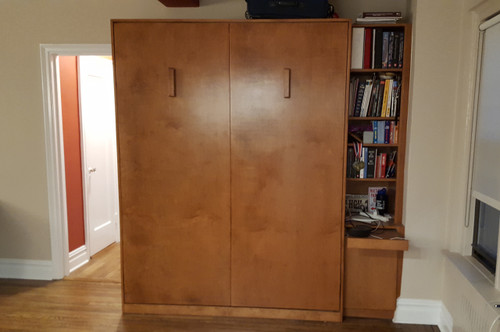 CUSTOM - Contemporary Murphy Bed Unit