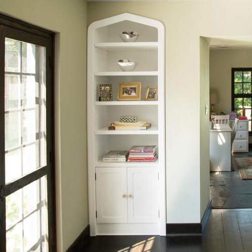 CUSTOM - Built in Bookcase in White