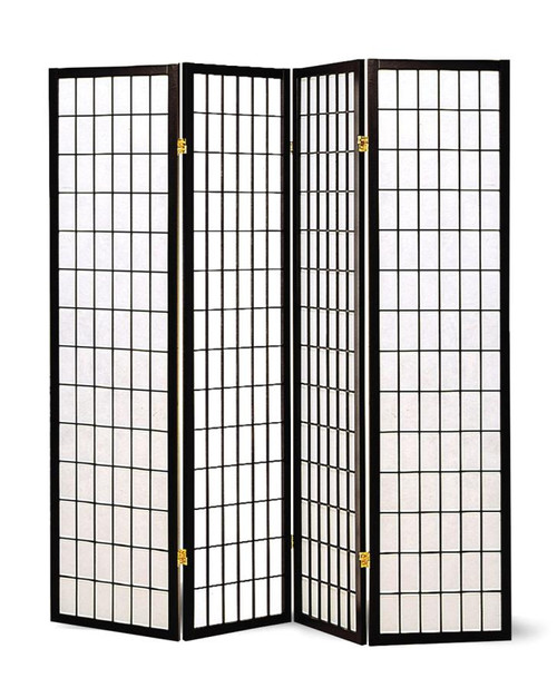 Japanese Black Large Room Divider