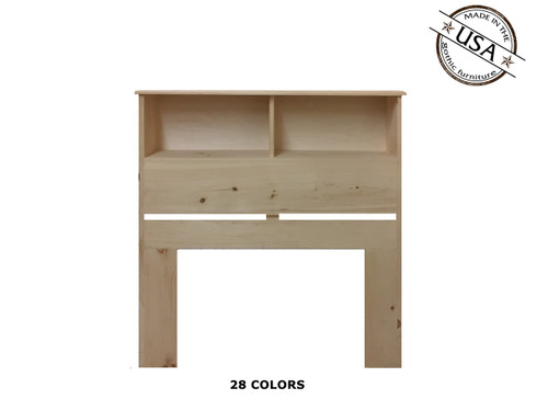 Twin Bookcase 9 x 41 x 46 | Pine Wood