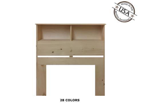 Twin Bookcase 9 x 41 x 46 | Pine Wood