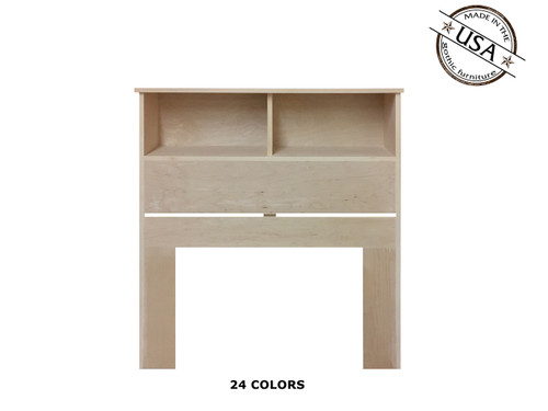 Twin Bookcase 9 x 41 x 46 | Birch Wood