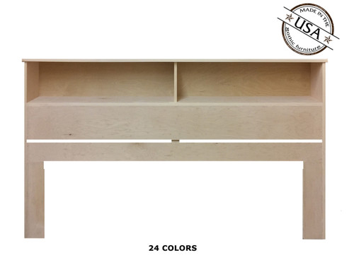 King Bookcase 9 x 81¼ x 46 | Birch Wood