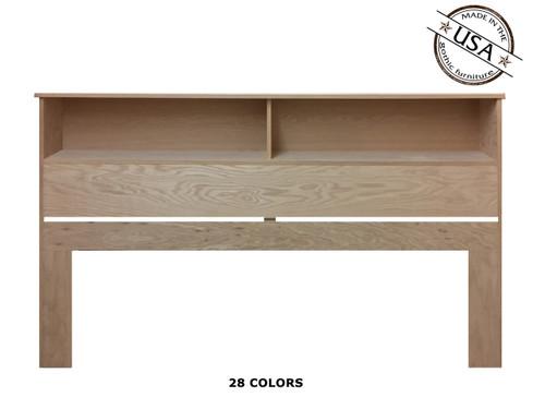 King Bookcase 9 x 81¼ x 46 | Oak Wood