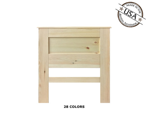 Twin Panel 2½ x 40½ x 46 | Pine Wood