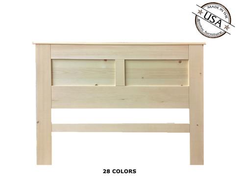 Full / Queen Panel  2½ x 61½ x 46   Pine Wood