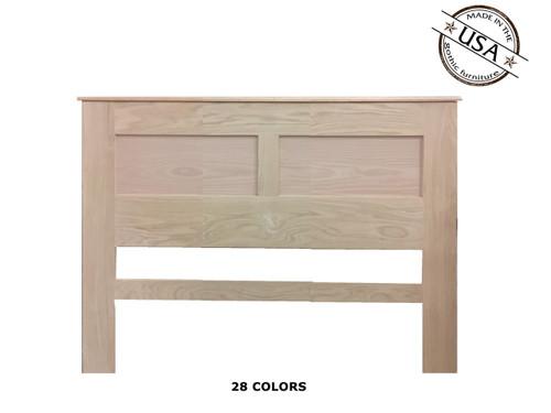 Full / Queen Panel  2½ x 61½ x 46 | Oak Wood
