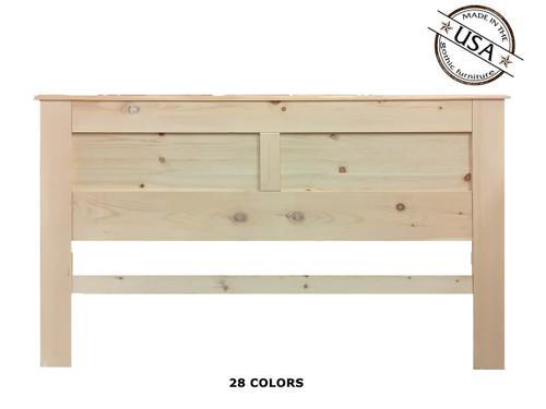 King Panel 2½ x 79½ x 46   Pine Wood