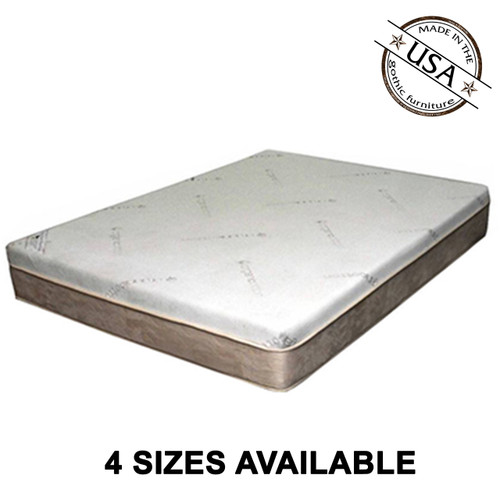 "Gel Memory Foam 10"" Euro Top"