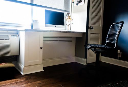 CUSTOM - Built In Desk / Radiator Cover