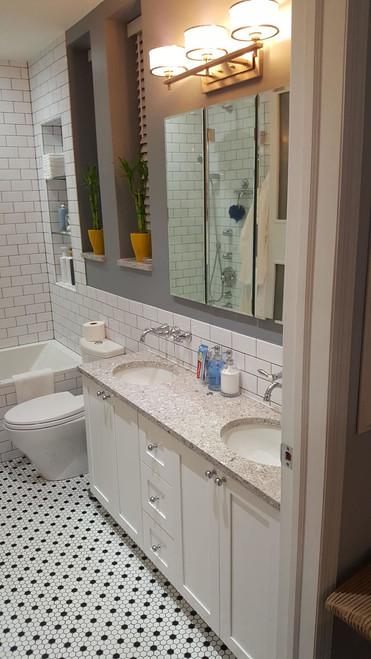 CUSTOM - His and Hers Bathroom Vanity