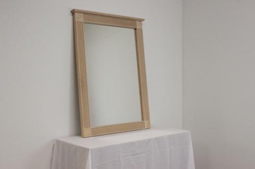 CLEARANCE - Rosette Mirror 33 x 44
