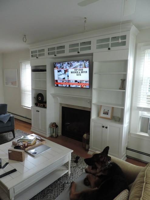 CUSTOM - Multi-Room - White & Coffee Built-in's