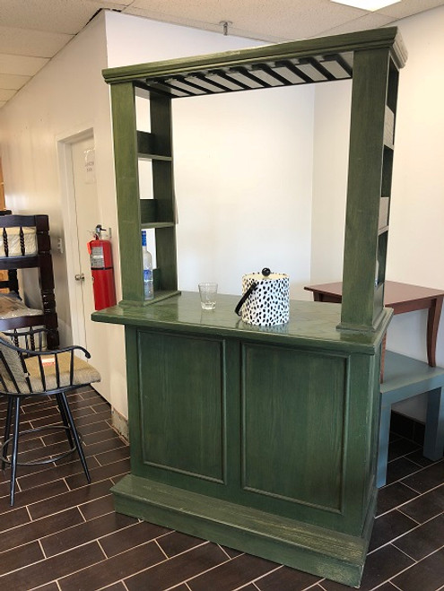 Bar + Hutch Set - FLOOR MODEL