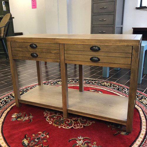 Sofa Table w/ Drawers - Floor Model