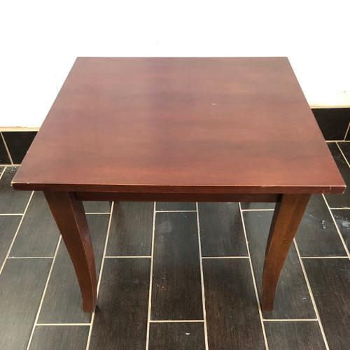 Beech Wood End Table - Floor Model