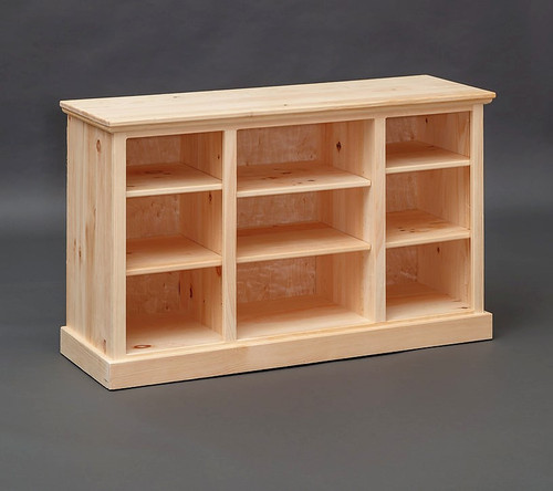 TV Stand w/ Shelving 17 x 50 x 30