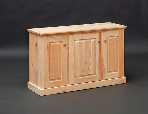 Pine Storage Cabinet 17 x 50 x 30