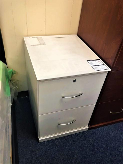 Flat Iron File Cabinet  - FLOOR MODEL