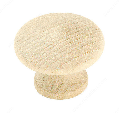 Replacement Wooden Knob (One Knob)