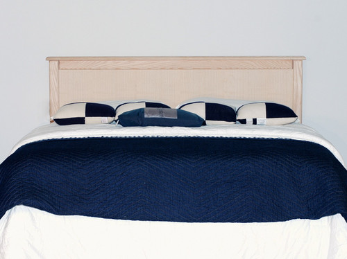 Clearance - Full/Queen Ash Panel Headboard - 2¼ x 61½ x 40 | Ash Wood