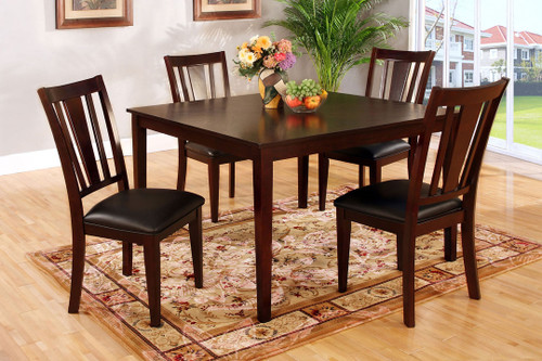 Bridgette I 48 x 48 x 30 | 5 Piece Dining Set