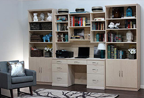 Office and Bookcases