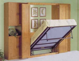 Custom Murphy Bed And Closet Gothic Furniture Custom