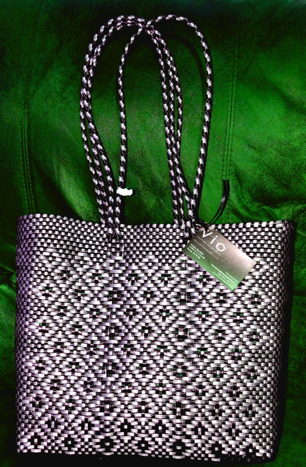 Black and White Tote with very cute design