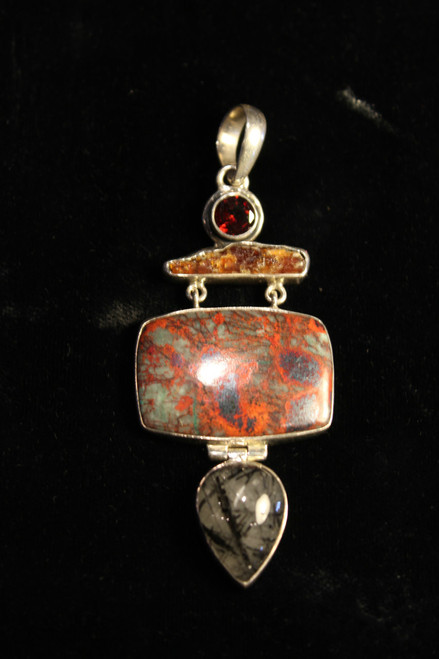 Pendant with Red