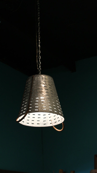 Olive Bucket With Lamp