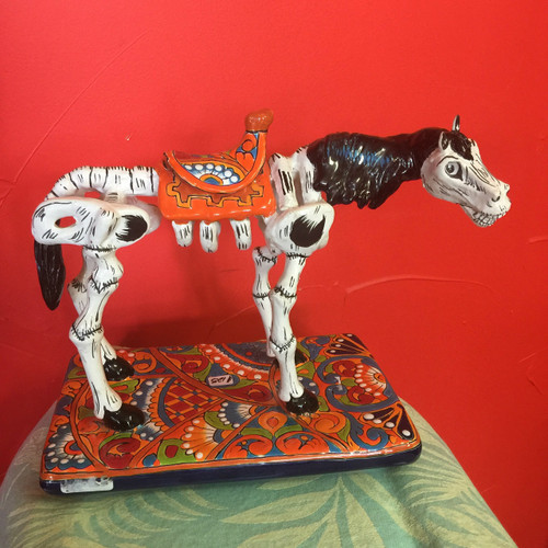 "Horse ""The Day of the Dead"""