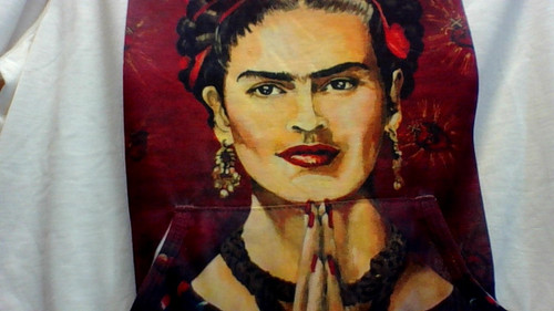 "Frida Kahlo: inspiring and poignant. She didn't conform to standards of lifestyle, beauty or creativity. "" She is a ""today's"" woman from ""yesterday""!"