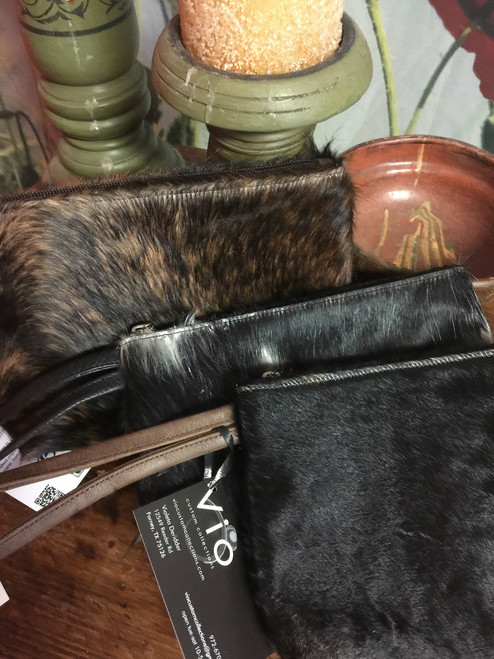 6x9 in cowhide clutches