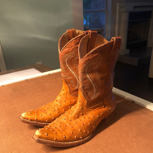 Mexican Leather child boots