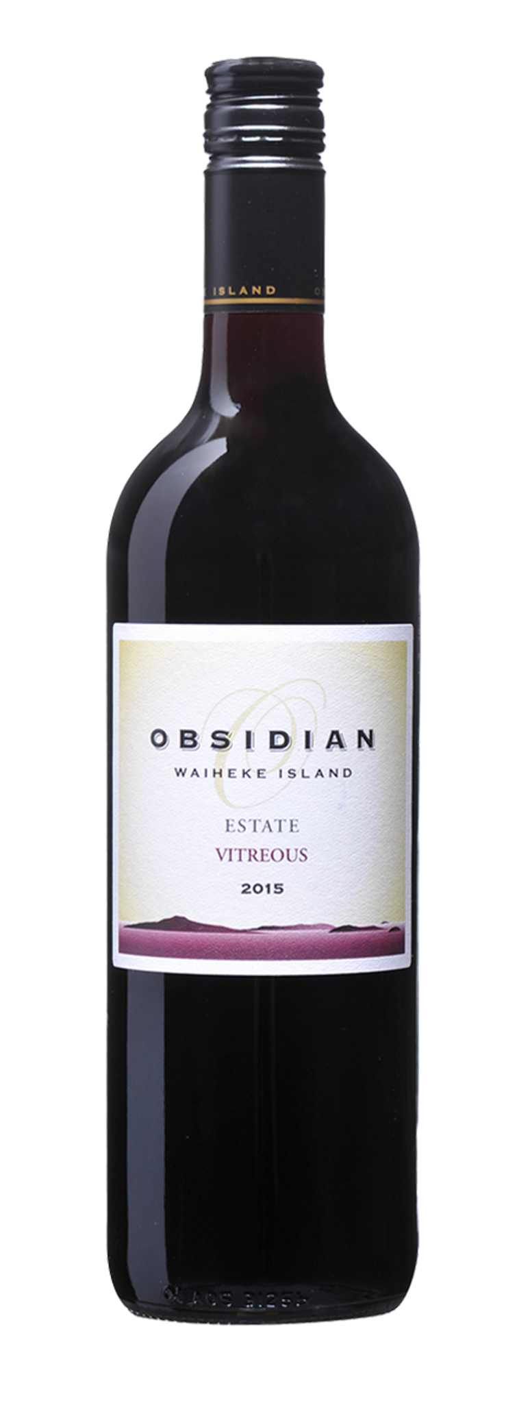Obsidian Estate Vitreous 2015