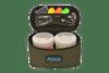Aqua Black Series Roving 2 Pot Glug Bag