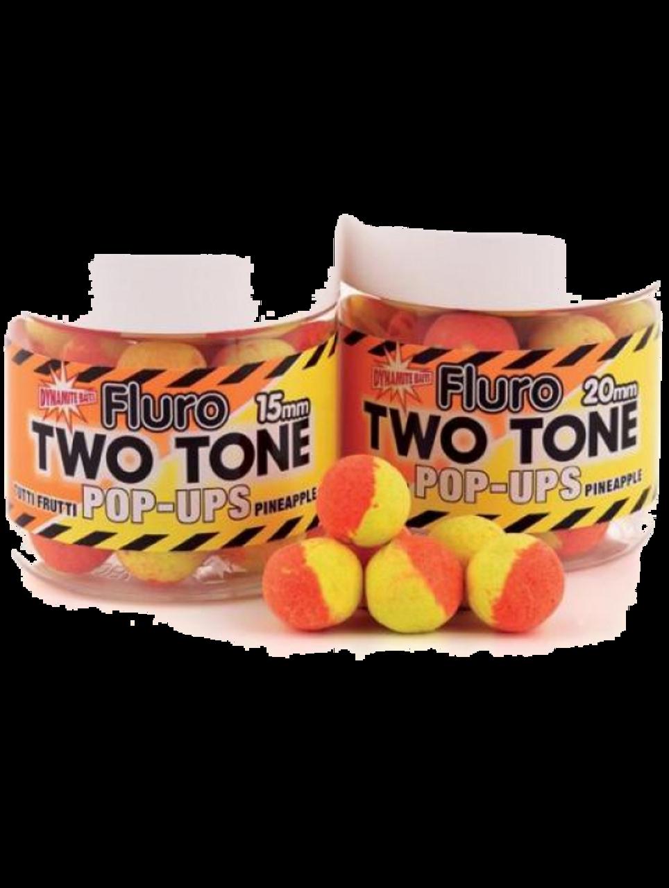 Dynamite Fluro Tutti Frutti & Pineapple Two Tone Pop-Ups