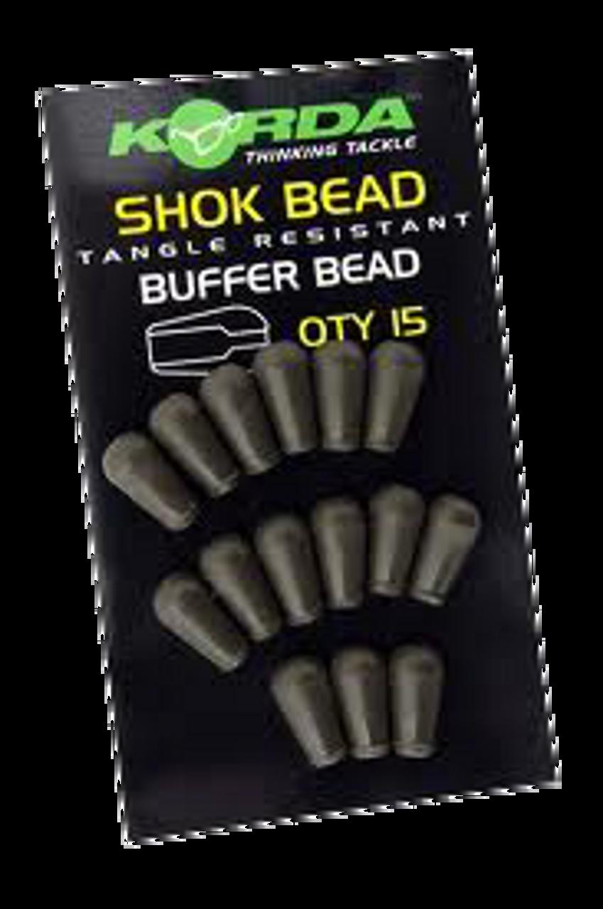Korda Shok Bead Tangle Resistant Buffer Bead 15 per pack KSK
