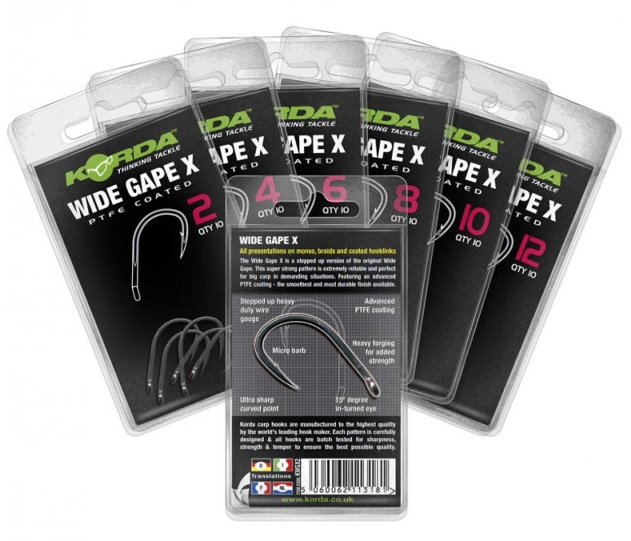 Korda Wide Gape X Hooks