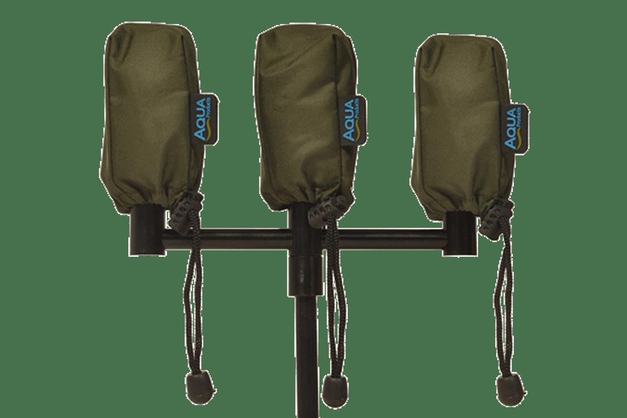 Aqua Camo Alarm Pouch Set of 3