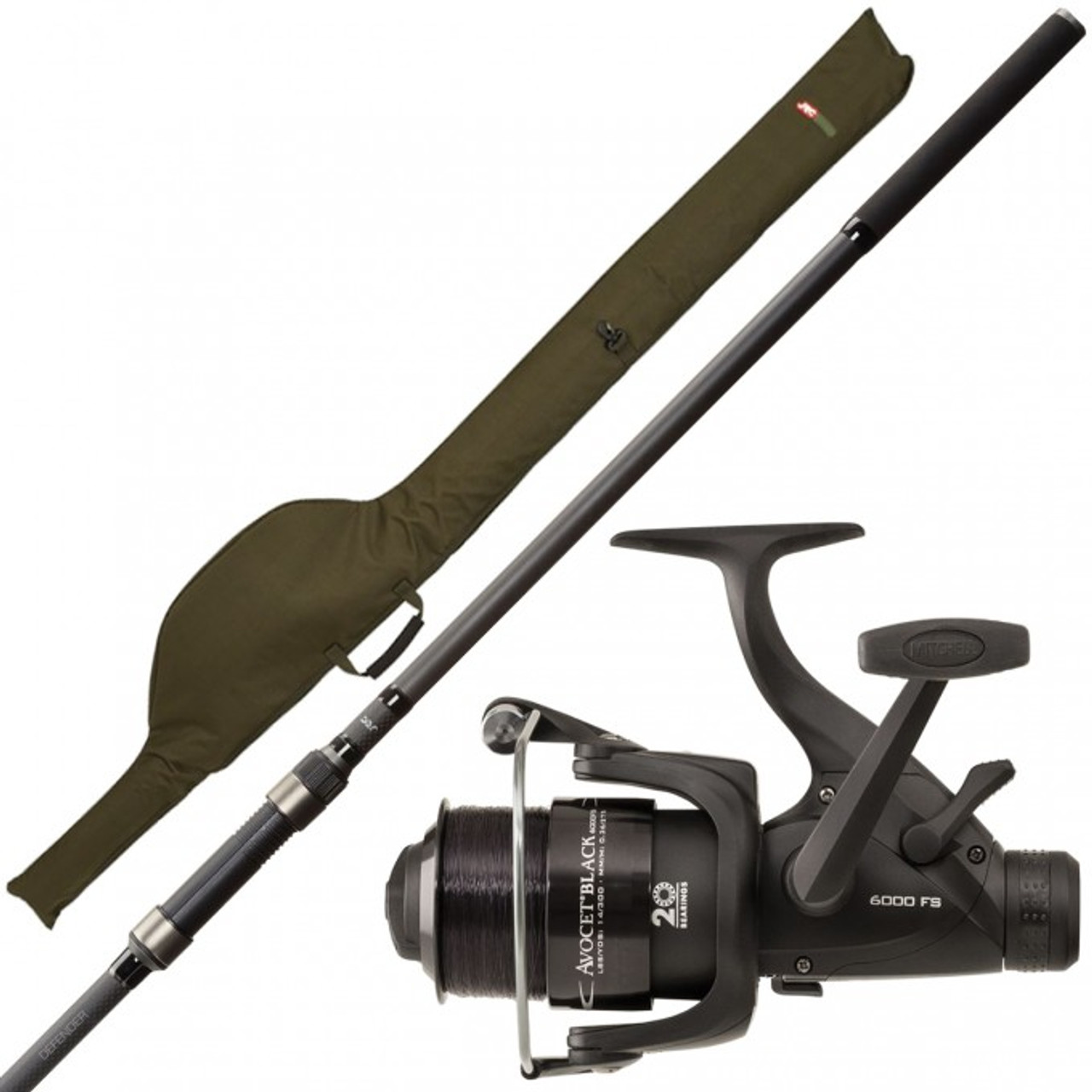 JRC Defender Padded Rod Sleeve ALL SIZES Carp fishing tackle