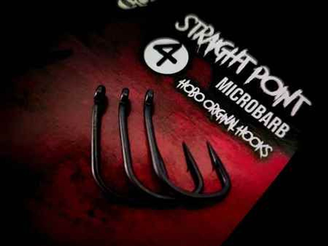 Hobo Armour Microbarb Straight Point Hooks