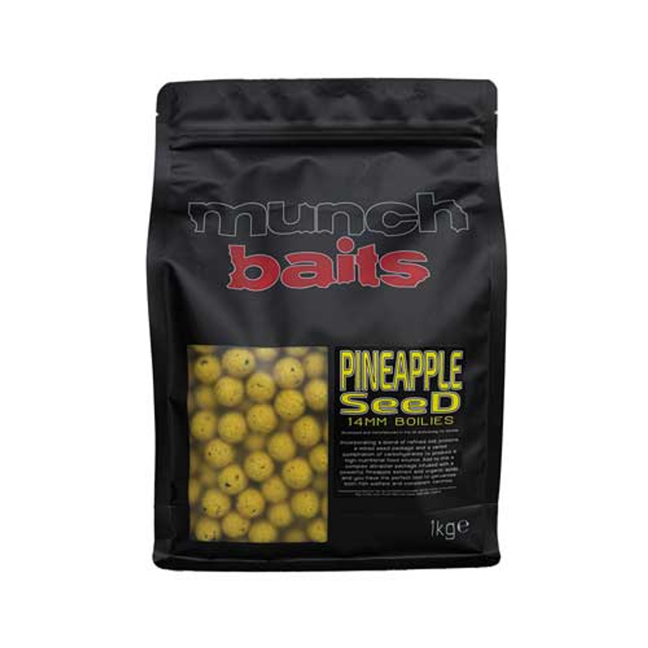 Munch Baits Pineapple Seed 14mm Boilies 1kg