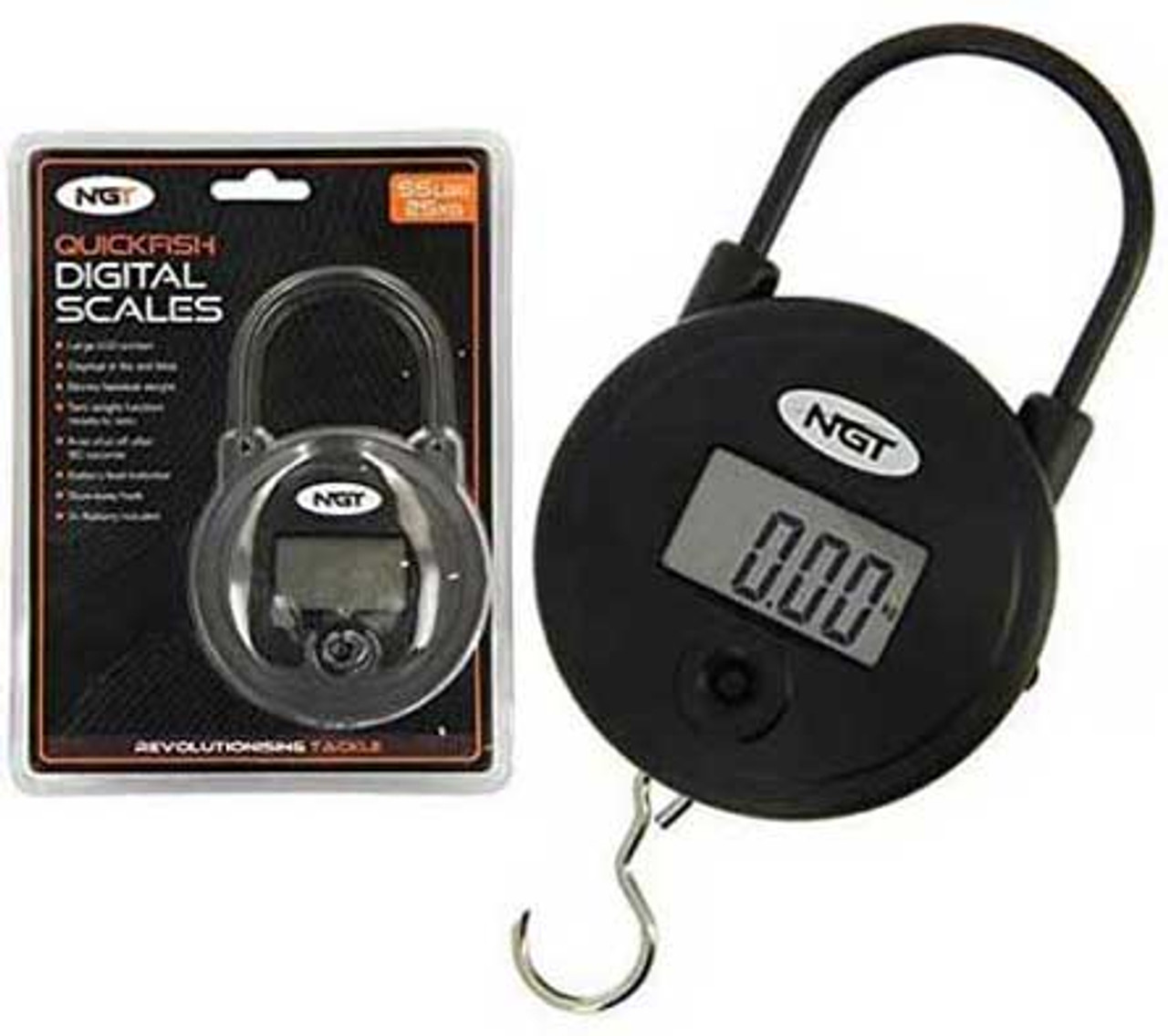NGT Quickfish Digital Weigh Scales 55lb/25kg