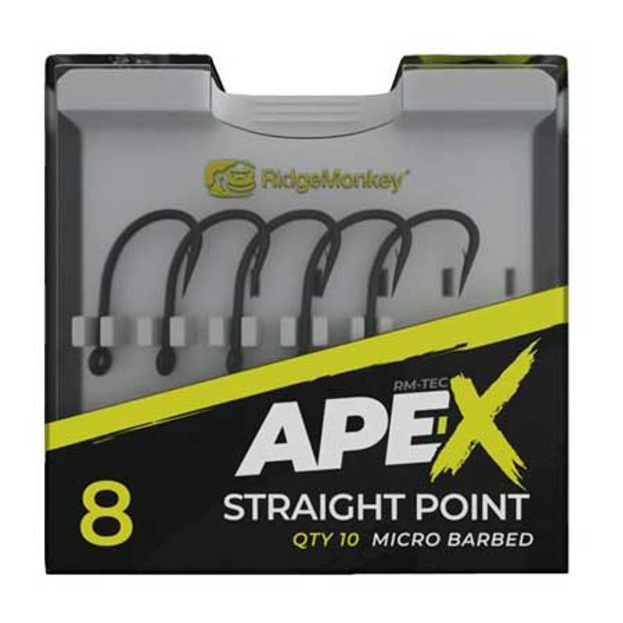RidgeMonkey Ape-X Straight Point Hooks